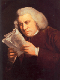 D.O.C. famosi:Samuel Johnson( 1709-1784)